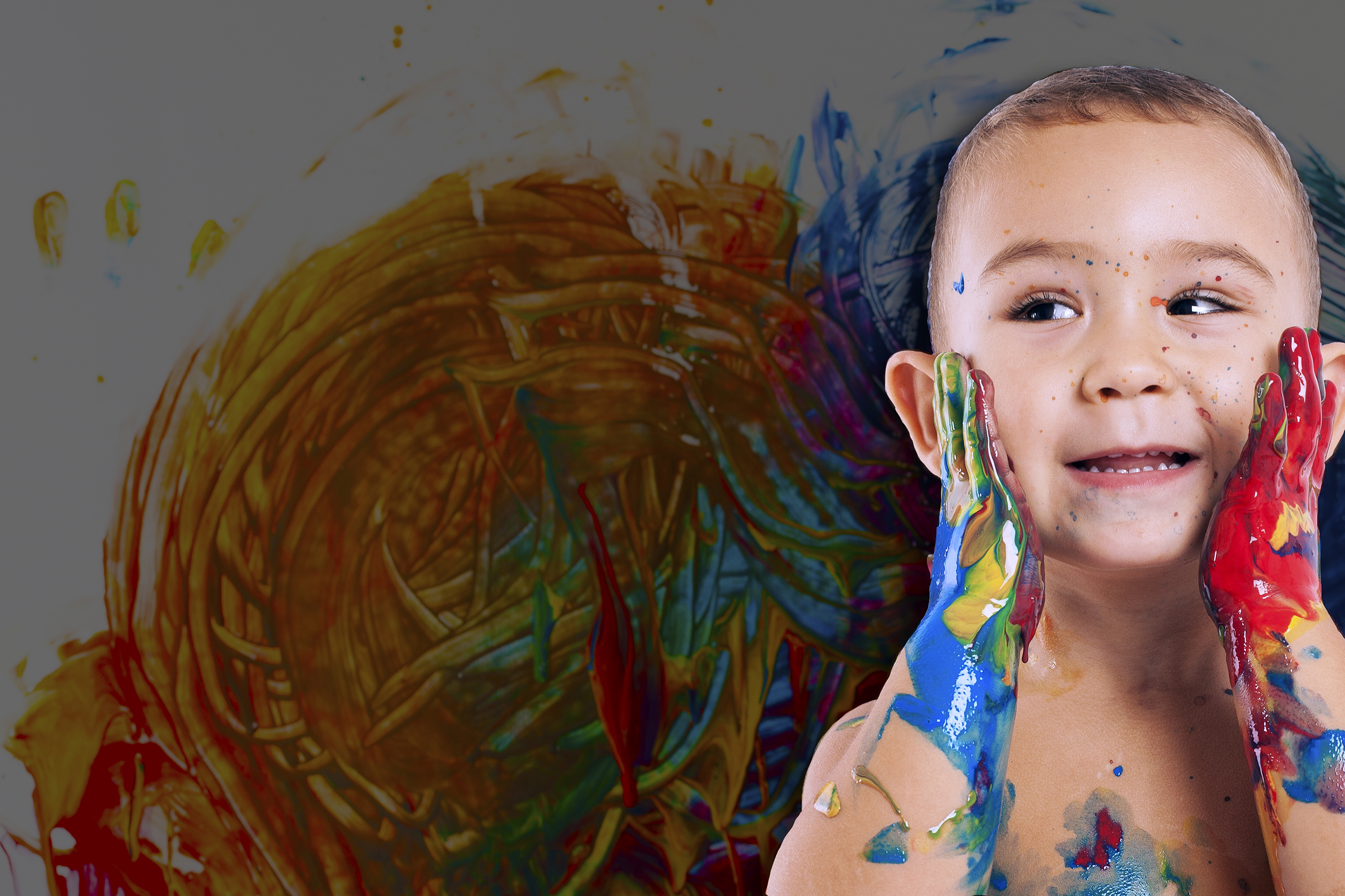 Overflow Painting Kid