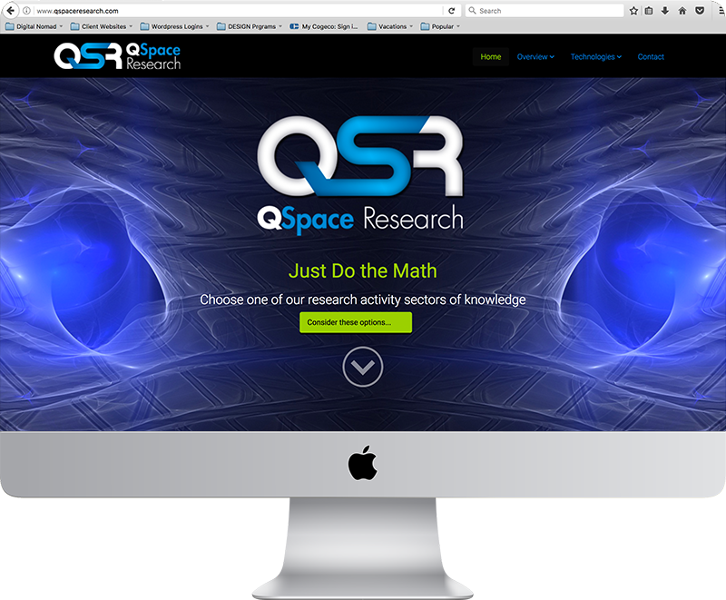 QSpace Research Website
