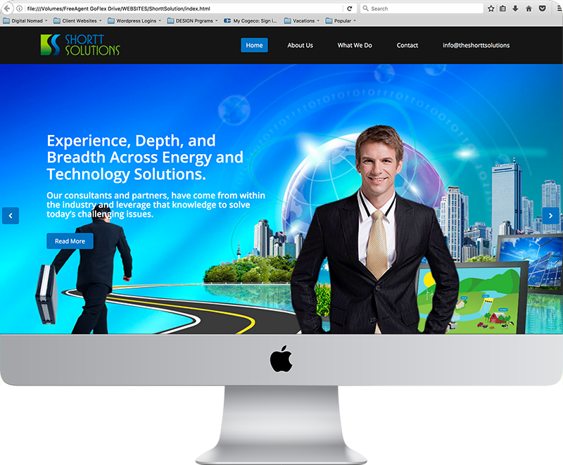 Shortt Solutions Website