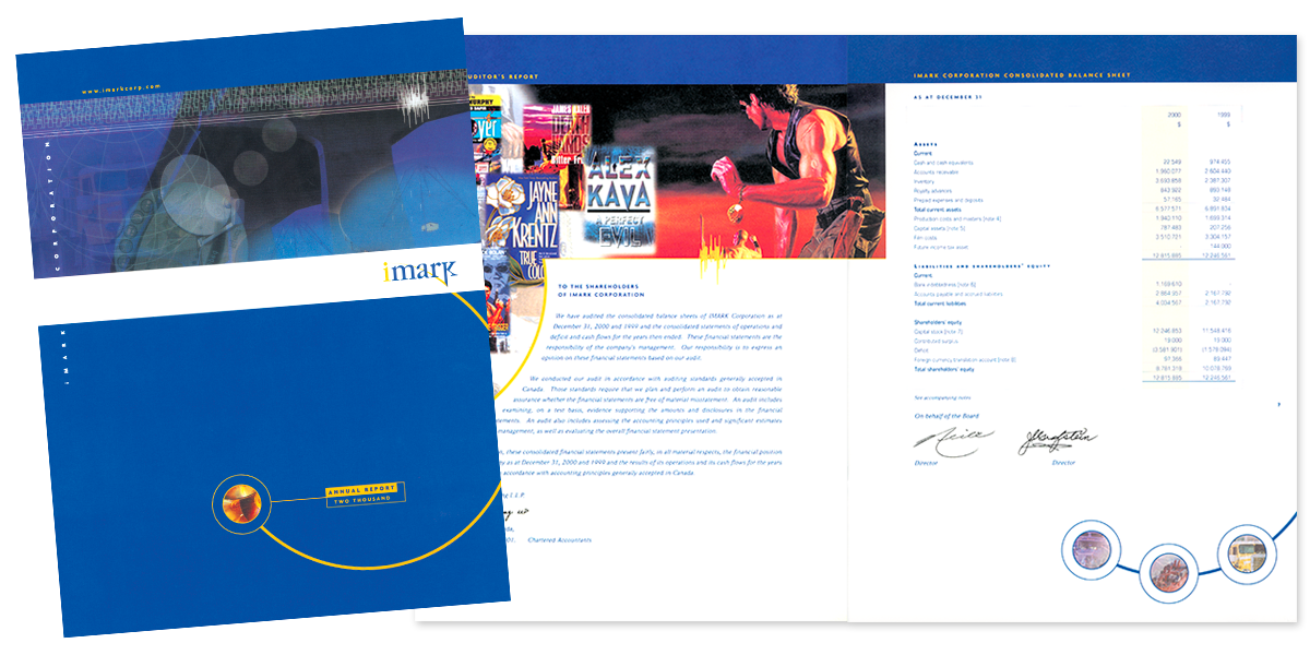 Imark Corporation Annual Report