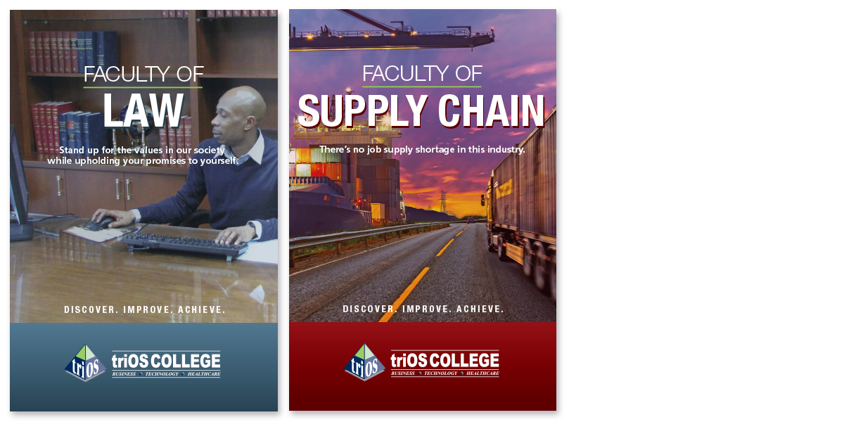 triOS College Posters