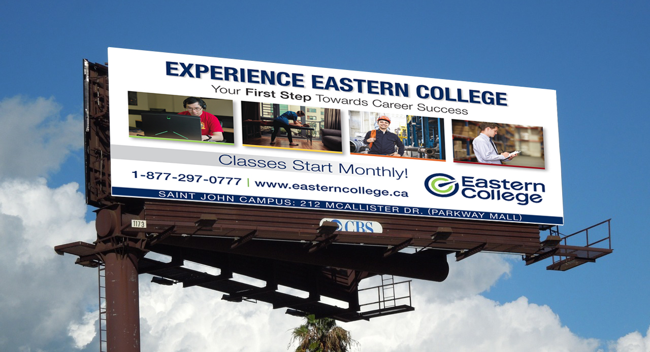 Eastern College Billboard