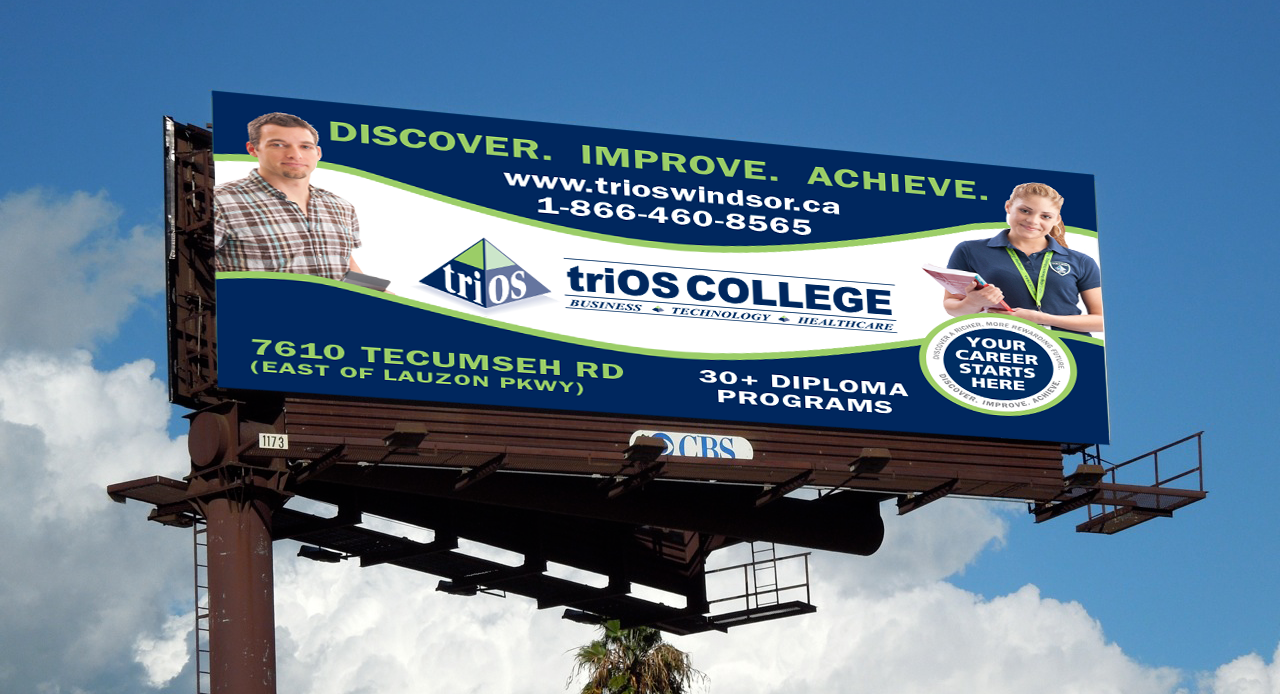 triOS College Billboard
