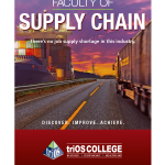 triOS College Supply Chain Poster