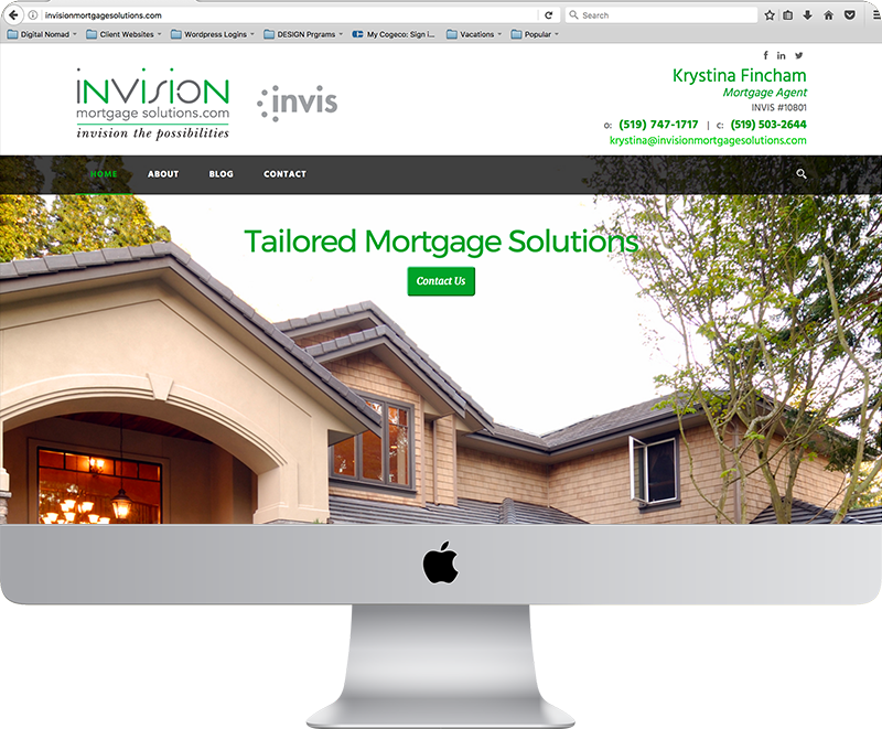 Invision Mortgage Website