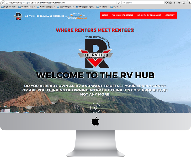 RV Hub Website