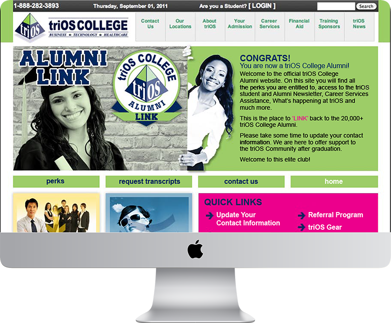 triOS Alumni Website