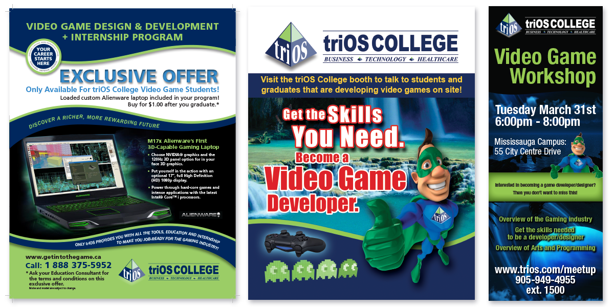 triOS College Flyers