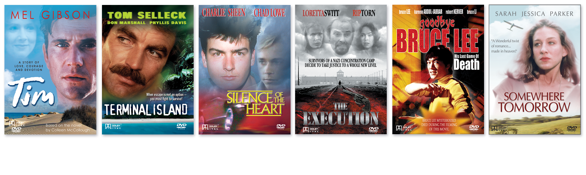 Christie Lee Associates DVD Covers