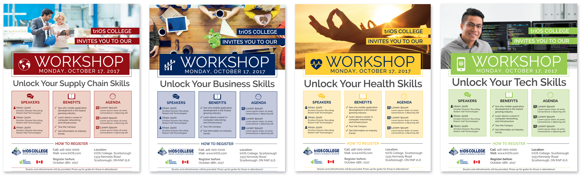 triOS College Workshop Templates