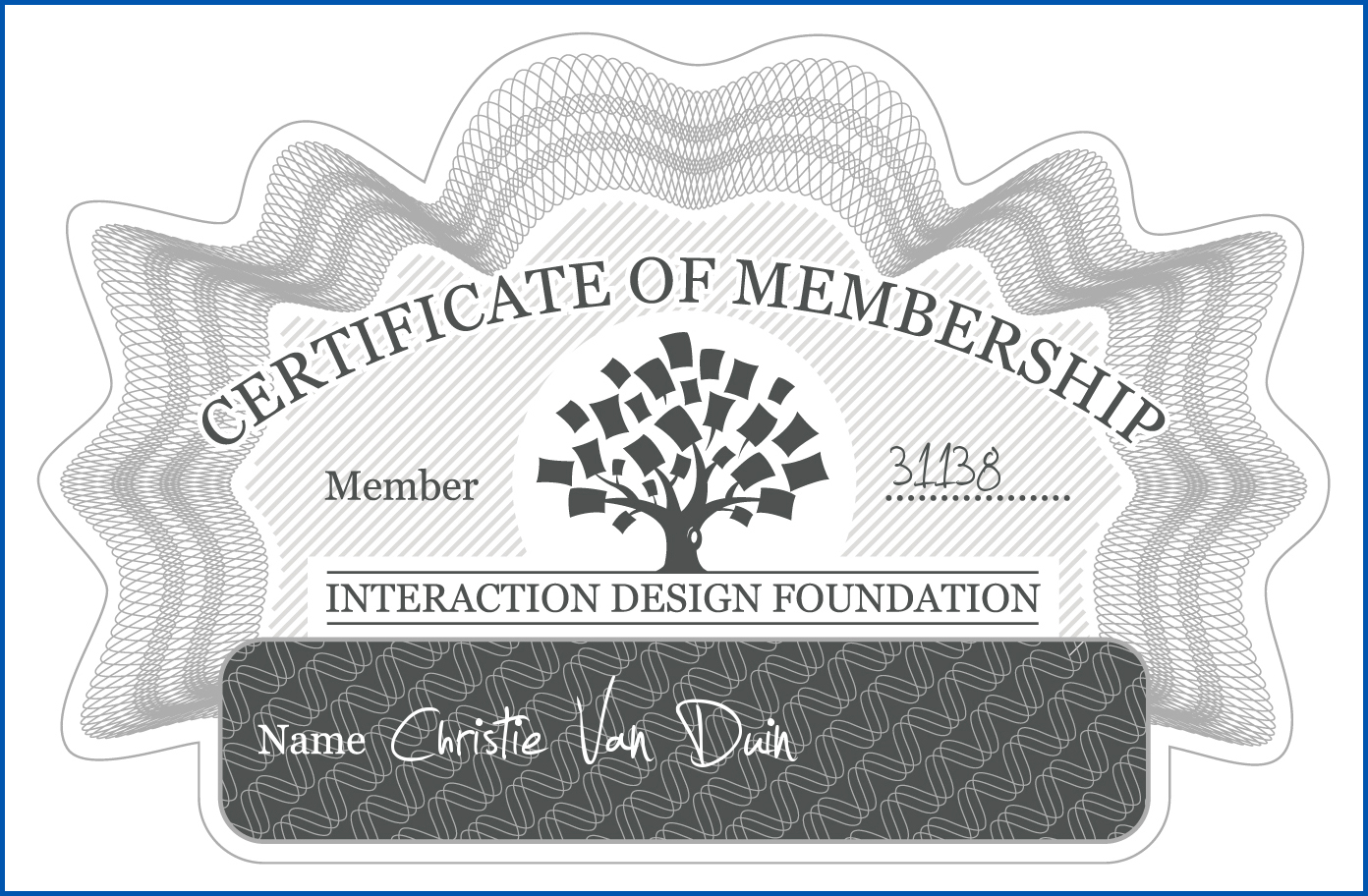 Interaction Design Foundation Member Certification